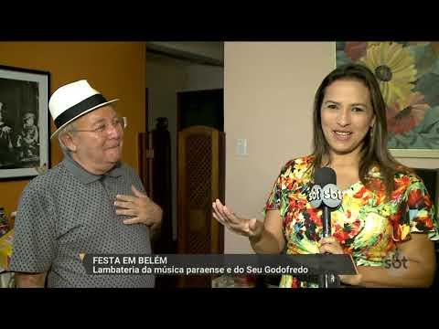SBT PARÁ (12.01.18) Festa em Belém: Lambateria da música paraense e do Seu Godofredo
