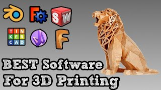 what 3d printing software to use