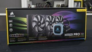 Corsair Hydro Series H115i PRO RGB 280mm Liquid CPU Cooler ORIGINAL GARANSI RESMI 5 TAHUN
