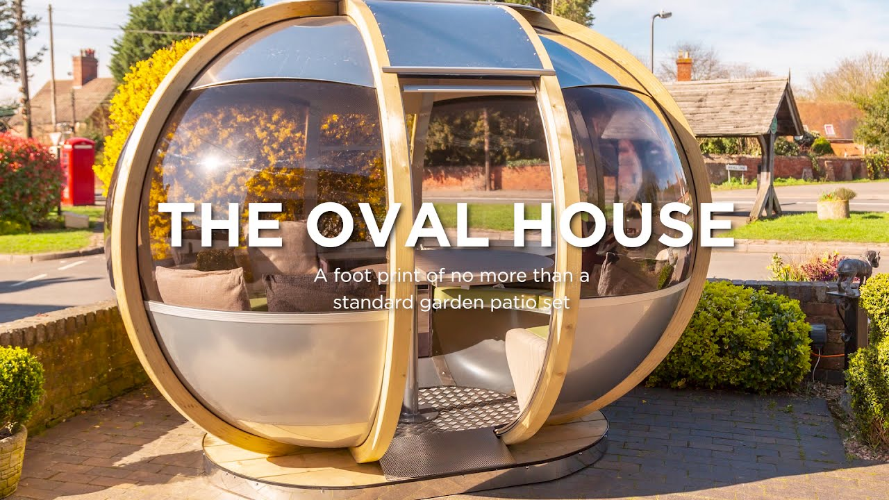 Small Oval House Garden Pod