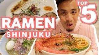 Tokyo Ramen Top 5 Must Eat at Shinjuku   Japanese Food Guide