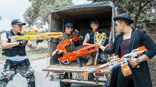 LTT Nerf War : Squad SEAL X Warriors Nerf Guns Fight Dr Lee Group Battle On The Car