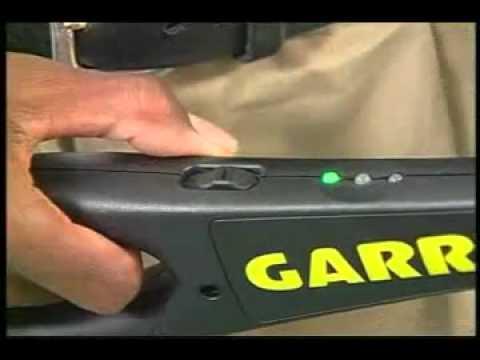 Detector de Metales Portatil Superwand Garrett, (notiseg.com) Tel. 55 58497232