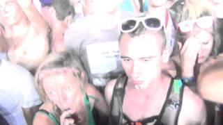EMF 2014 - Fatboy slim - Eat sleep rave repeat le feu