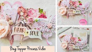 Bag Topper Process Video | Polkadoodles DT