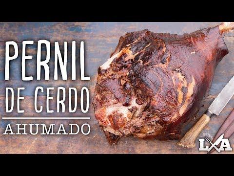 Pernil de Cerdo Ahumado por 5 horas   Receta de Locos X el Asado