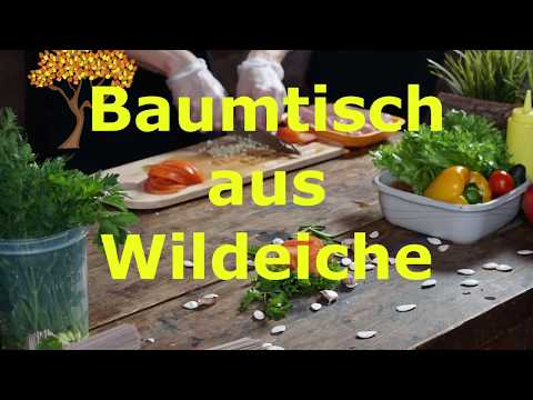 Baumtisch Wildeiche