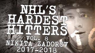 Biggest Nikita Zadorov Hits of 2018 | NHL's Hardest Hitters