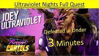Borderlands 3 REVENGE OF THE CARTELS - Ultraviolet Nights - Boss Joey Ultraviolet - Under 3 Minutes