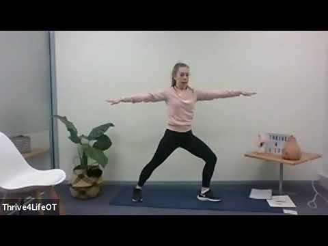 Activities in Lockdown Yoga for Kids Thrive4Life OT 16 September 2020