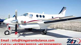 Get Advanced Air Ambulance Service in Chennai and Vellore by King