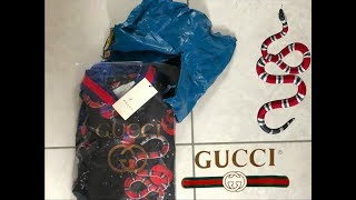Gucci Galaxy Snake Jacket unboxing