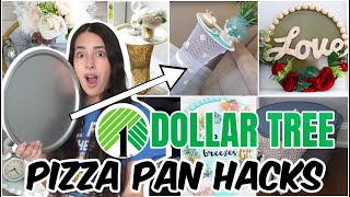 PIZZA PAN DOLLAR TREE HACKS┃HACKS THAT WILL LEAVE YOU SHOCKED