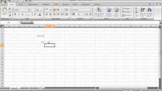 Entering Fractions in Microsoft Excel