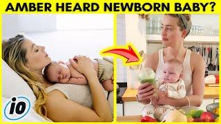 Amber Heard Shares Video Of Not So Newborn Baby?
