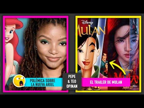 Controversia en Redes por que Halle Bailey será La Sirenita | Trailer Mulan y Controversia