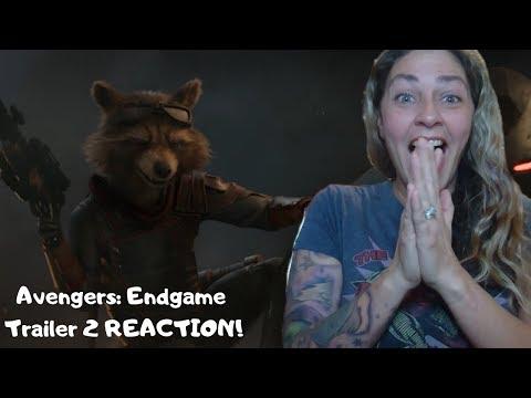 Marvel Studios' Avengers 4 Endgame Official Trailer #2 REACTION! (видео)