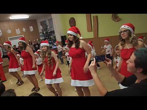 Vánoční besídka Poličná, 1.třída, 2017