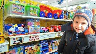 Vlog Ярик выбирает подарок в магазине игрушек