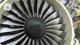 GE90 and GEnx Composite fan blades