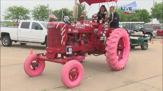 WHO Radio Tractor Ride