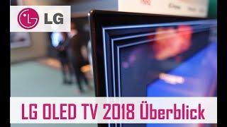LG 4K OLED Fernseher 2018 im Überblick (B8, C8, E8, G8, W8)