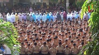 Siswa MTSN Model Banda Aceh Gelar Salat Gaib untuk BJ Habibie