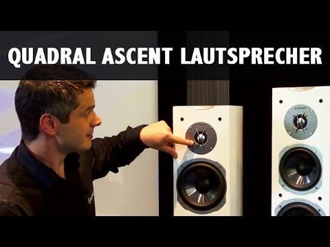 QUADRAL ASCENT Lautsprecher im Überblick / Test / Vorstellung