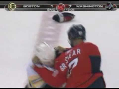 Shawn Thornton vs Donald Brashear