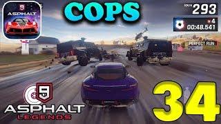 ASPHALT 9: LEGENDS - COPS HAUNTED ESCAPE MODE - #34