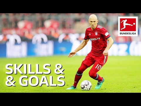 Arjen Robben – Magical Skills and Goals
