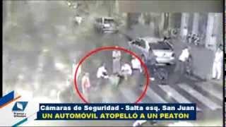 preview picture of video 'Las cámaras captan un nuevo accidente de tránsito - Gobierno de Tucumán'