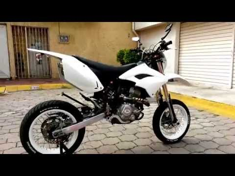 Qlink Shineray Supermotard 250cc.White Exhaust SRP Gascon