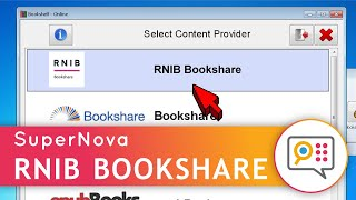 Using SuperNova to Download RNIB's (Load2Learn) accessible books