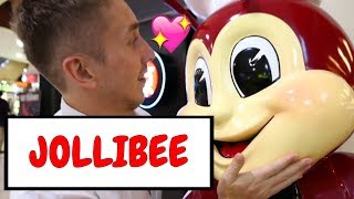 Eating JolliBee For the First Time !