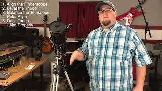 How To Actually Use That Damn Telescope!