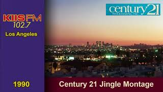 102.7 KIIS FM Los Angeles Jingle Montage #1 (1990)