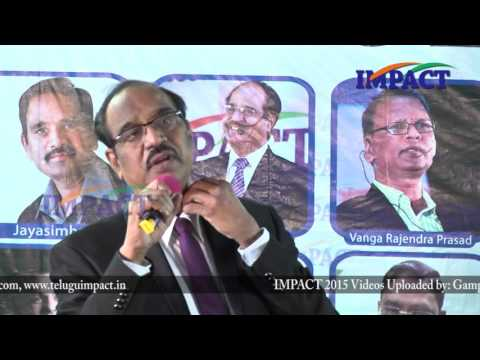 Adjustment|BV Pattabhiram|TELUGU IMPACT Hyd Mar 2016