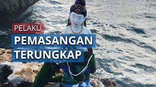 Viral Video Patung Mirip Nyi Roro Kidul di Pantai Bali, Pelaku Pemasang Terungkap dan Minta maaf