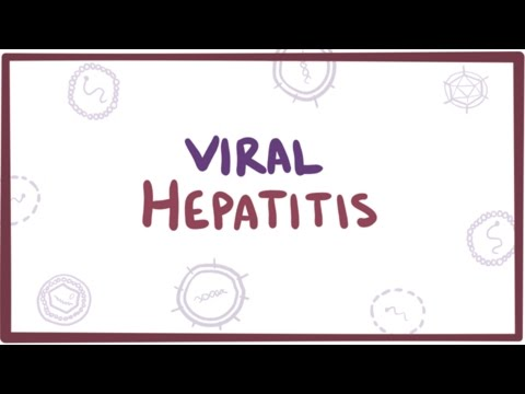 Video Viral hepatitis (A, B, C, D, E) - causes, symptoms, diagnosis, treatment & pathology