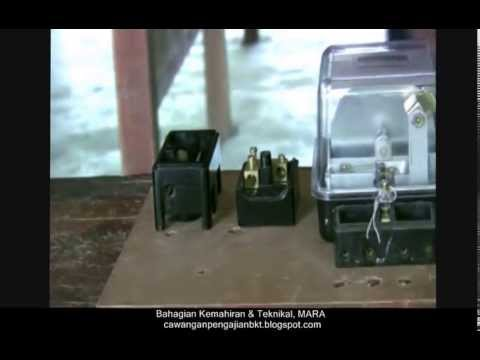Video Pemasangan Meter Kilowatt Jam Part 1