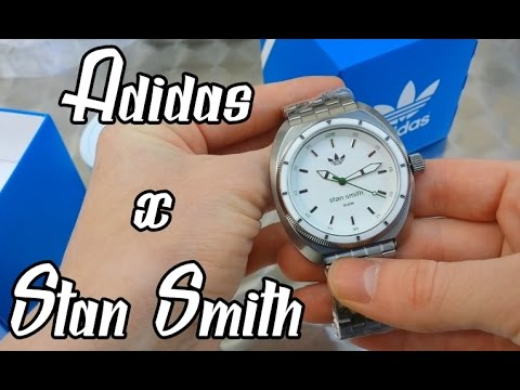 Adidas Stan Smith Uhr | Unboxing | AD152E00O-D11