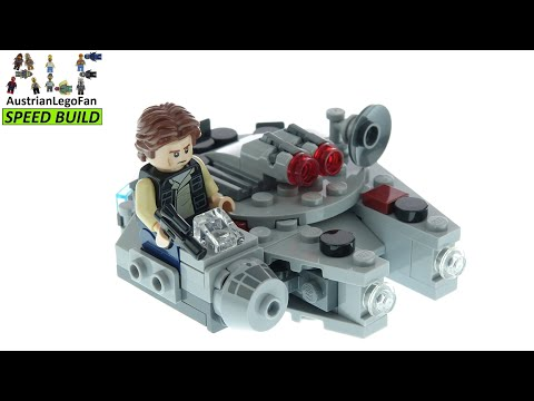 Vidéo LEGO Star Wars 75295 : Microfighter Faucon Millenium