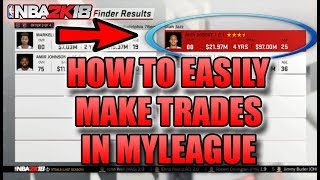 HOW TO EASILY MAKE TRADES IN NBA 2K18|NBA 2K18 TIPS AND TRICKS