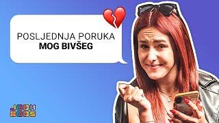 ČITAMO ZADNJE PORUKE BIVŠIH 💔| xniks2x, Ash, Ana Rogač