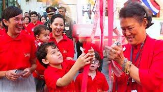 #ทูลกระหม่อมยาย'กรมสมเด็จพระเทพฯ' เสด็จฯตรุษจีนเยาวราช