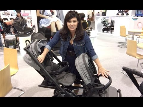 NEW Peg Perego TEAM Double Stroller Sneak Peek