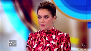 The View | Alyssa Milano On Why She's Telling 25 Year Old #MeToo Story