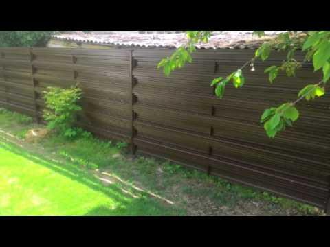Plieninė tvora už puikią kainą !!! Tik 1,4 eur už metrą !!