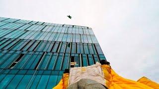 Московские руферы | Прыгнуть с небоскреба и уцелеть | Москва-Сити  354 м